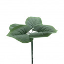 Großhandel Sonstige: Hosta-Blatt Bund, x5, 40cm, grün